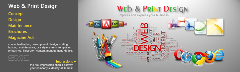 Web and Print Design